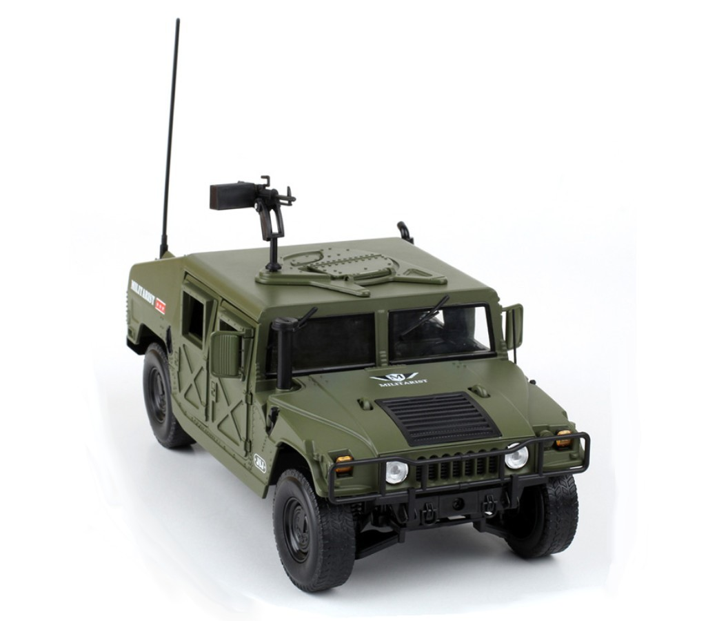 Humvee Battle Field - 1:18 Heavy Diecast Model KDW685004W