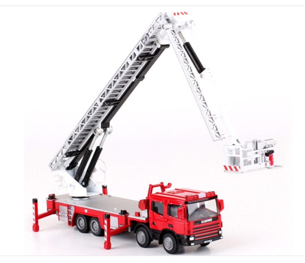 Aerial Fire Truck Construction Vehicle 1:50 Heavy Die cast Model KDW625014W