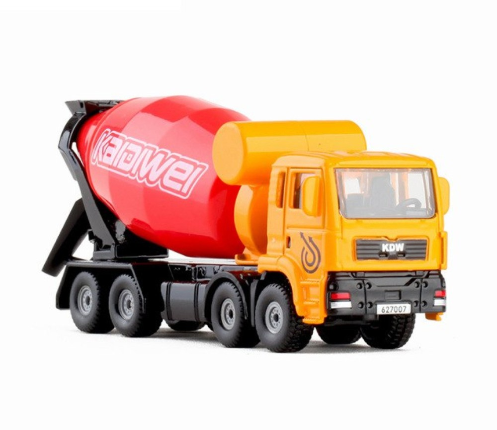 1:72 Cement Mixer Truck, Heavy Die cast Model KDW627007W