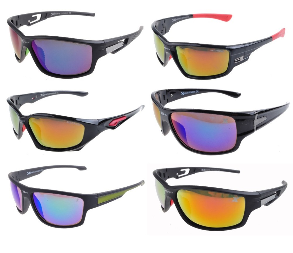 Xsport Polarized Tint Lens Sunglasses Sample Pack