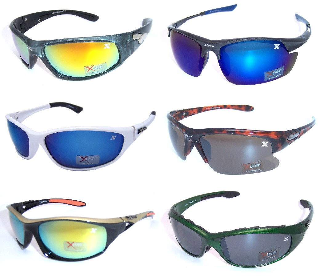 Xsports Plastic Frame Sunglasses Sample Pack